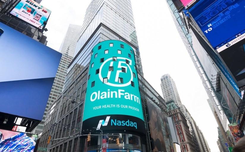 Olainfarm AS (OLF1R, NasdaqRiga)